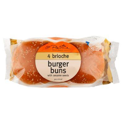 brioche buns seeded
