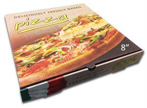 """CLASSIC 8"""" FULL COLOUR PIZZA BOX"""