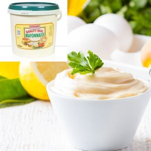 REAL QUALITY MAYONNAISE ( WERNSING) (GREEN) 10 LITRE