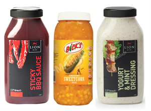 Sauces and Dressings Category