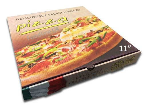 "CLASSIC 11"" PIZZA BOX FULL COLOUR"
