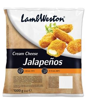 JALAPENO CREAM CHEESE FLAMER LAMB WESTERN 1 KG