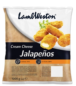 JALAPENO CREAM CHEESE FLAMER LAMB WESTERN 1 KG