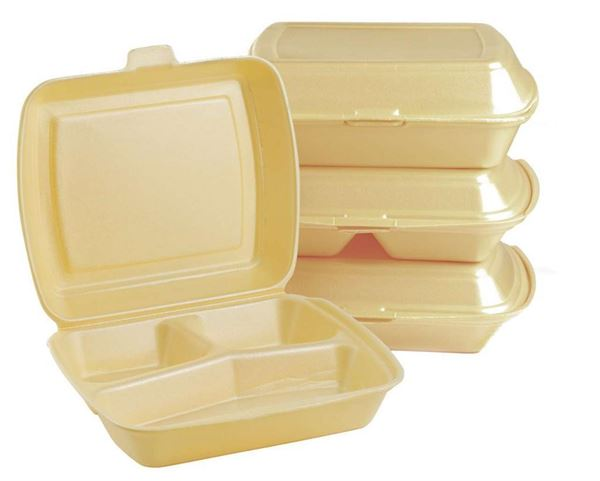 HP4/3 WHITE FOOD TRAY (200)