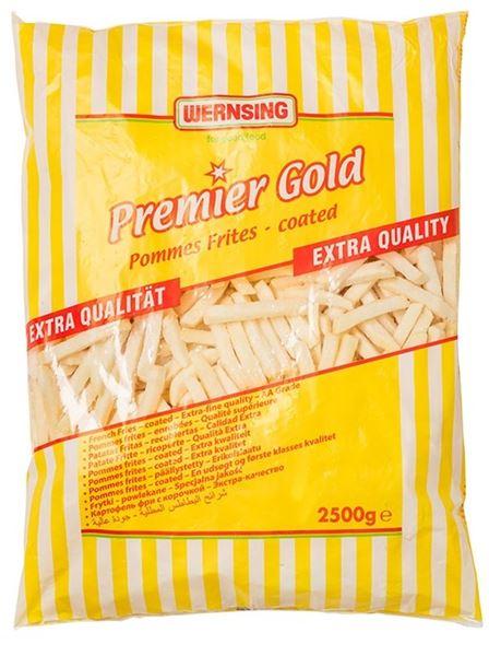 CHIPS PREMIER GOLD COATED 3/8