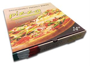 CLASSSIC 14'' PIZZA BOX FULL COLOUR (50)