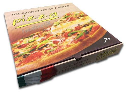 CLASSSIC 7'' PIZZA BOX FULL COLOUR (100)