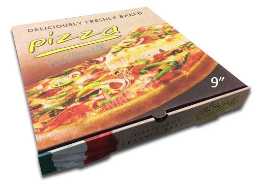 CLASSSIC 9'' PIZZA BOX FULL COLOUR (100)
