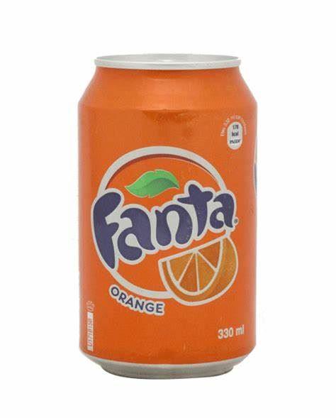 FANTA 24 X 330ML CANS IMPORT