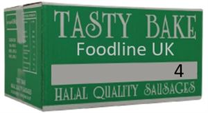 HALAL TASTY BAKE NO 4 SAUSAGES (LARGE) X40