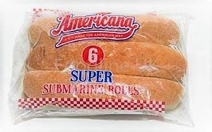 BREAD ROLL AMERICANA (6 PCS )