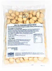 CHICKEN POPCORN DELTA SFC 1 KG